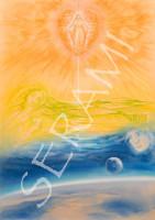 """Himmel"" Kunstdruck, Bild, Reproduktion"