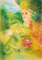 """Karibik"" Kunstdruck, Bild, Reproduktion"