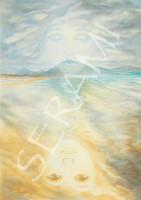 """""""Inch Beach"""" Kunstdruck, Bild, Reproduktion"""